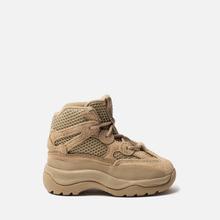 Кроссовки для малышей adidas Originals Yeezy Desert Boot Infant Rock/Rock/Rock фото- 3