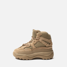 Кроссовки для малышей adidas Originals Yeezy Desert Boot Infant Rock/Rock/Rock фото- 5