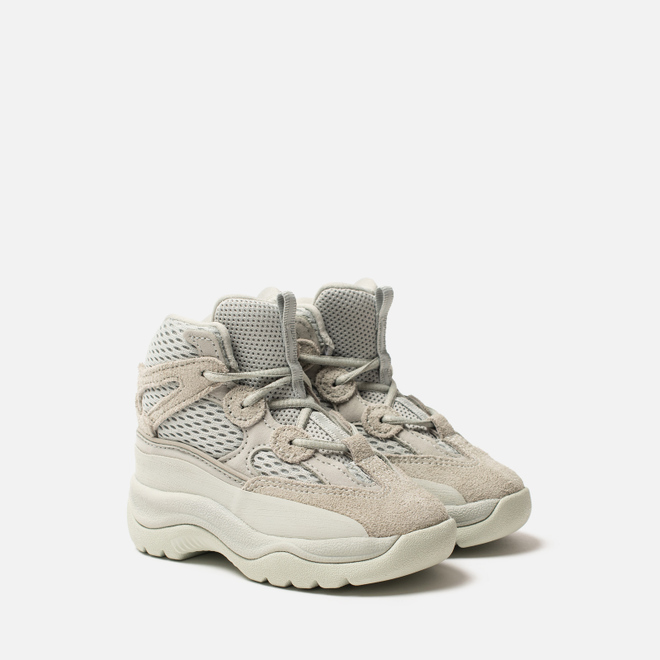 Кроссовки для малышей adidas Originals Yeezy Desert Boot Infant Salt/Salt/Salt
