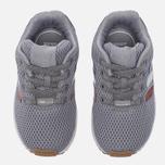 Кроссовки для малышей adidas Originals ZX Flux EL Infant Grey/White фото- 4