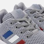 Кроссовки для малышей adidas Originals ZX Flux EL Infant Grey/White фото- 5