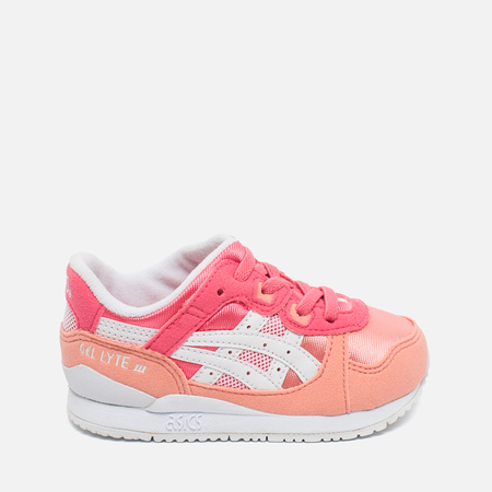 ASICS Gel-Lyte III TS Children's Sneakers Guava/White