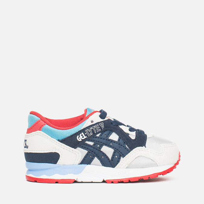 ASICS Gel-Lyte V Children's Sneakers Soft Grey/Navy