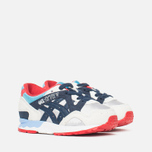 ASICS Gel-Lyte V Children's Sneakers Soft Grey/Navy photo- 1