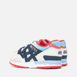 ASICS Gel-Lyte V Children's Sneakers Soft Grey/Navy photo- 2