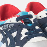 ASICS Gel-Lyte V Children's Sneakers Soft Grey/Navy photo- 5