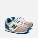 Кроссовки для малышей New Balance FS996ASI Beige/Blue фото- 2