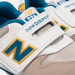 Кроссовки для малышей New Balance FS996ASI Beige/Blue фото- 5