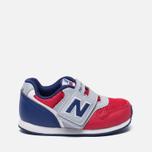 Кроссовки для малышей New Balance FS996OPI Red/Grey/Blue фото- 0