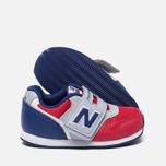 Кроссовки для малышей New Balance FS996OPI Red/Grey/Blue фото- 1