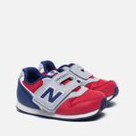 Кроссовки для малышей New Balance FS996OPI Red/Grey/Blue фото- 2