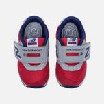 Кроссовки для малышей New Balance FS996OPI Red/Grey/Blue фото- 4