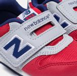 Кроссовки для малышей New Balance FS996OPI Red/Grey/Blue фото- 5