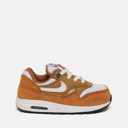 Кроссовки для малышей Nike Air Max 1 Premium Retro TD Dark Curry/White/Sport Royal/Black