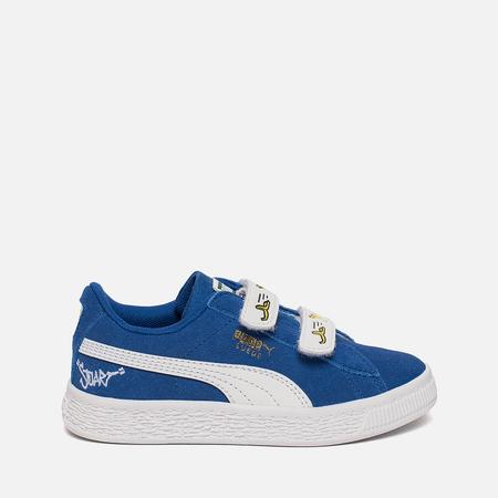 Кроссовки для малышей Puma Minions Suede V PS Olympian Blue/White