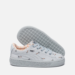 Кроссовки для малышей Puma x tinycottons Basket Canvas Infant Illusion Blue фото- 1