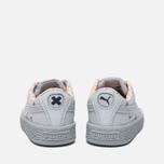 Кроссовки для малышей Puma x tinycottons Basket Canvas Infant Illusion Blue фото- 3