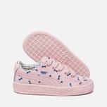 Кроссовки для малышей Puma x tinycottons Basket Canvas Infant Pink Dogwood фото- 1