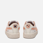 Кроссовки для малышей Puma x tinycottons Basket Canvas Infant Whisper White/Peach Nougat фото- 3