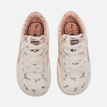 Кроссовки для малышей Puma x tinycottons Basket Canvas Infant Whisper White/Peach Nougat фото- 4