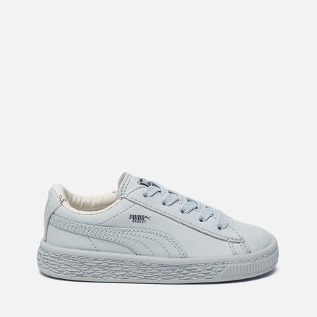 Кроссовки для малышей Puma x tinycottons Basket Leather Infant Illusion Blue