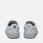 Кроссовки для малышей Puma x tinycottons Basket Leather Infant Illusion Blue фото- 3