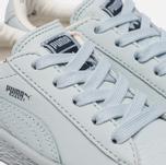 Кроссовки для малышей Puma x tinycottons Basket Leather Infant Illusion Blue фото- 5