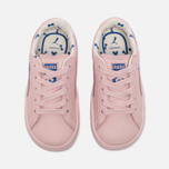 Кроссовки для малышей Puma x tinycottons Basket Leather Infant Pink Dogwood фото- 4
