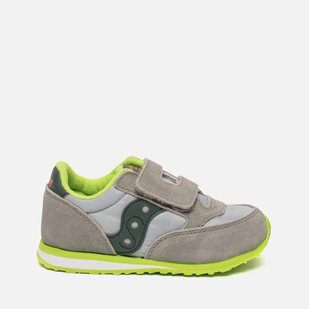 Кроссовки для малышей Saucony Baby Jazz HL Grey/Dark Green