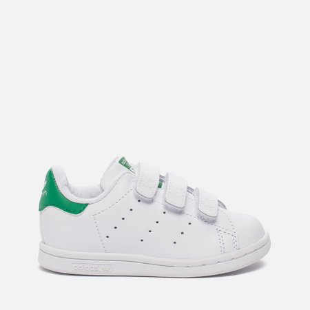 Кроссовки для малышей adidas Originals Stan Smith CF I White/White/Green