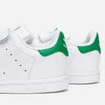 Кроссовки для малышей adidas Originals Stan Smith CF I White/White/Green фото- 5