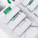 Кроссовки для малышей adidas Originals Stan Smith CF I White/White/Green фото- 6