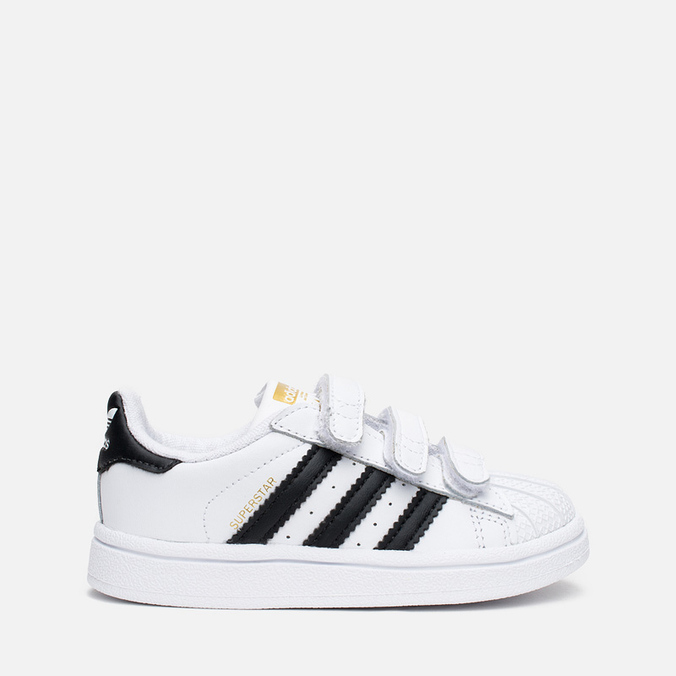 Кроссовки для малышей adidas Originals Superstar Foundation CF I White/Core Black/White
