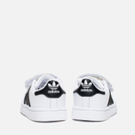 Кроссовки для малышей adidas Originals Superstar Foundation CF I White/Core Black/White фото- 3