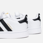 Кроссовки для малышей adidas Originals Superstar Foundation CF I White/Core Black/White фото- 5