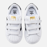 Кроссовки для малышей adidas Originals Superstar Foundation CF I White/Core Black/White фото- 4