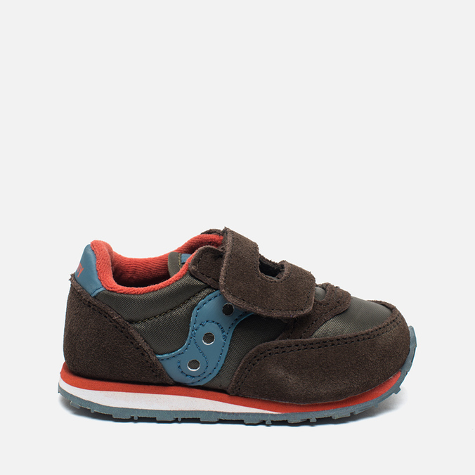 Кроссовки для малышей Saucony B Toddler Jazz Triple HL Brown/Blue