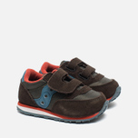 Кроссовки для малышей Saucony B Toddler Jazz Triple HL Brown/Blue фото- 1