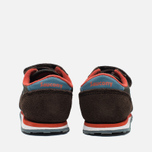 Кроссовки для малышей Saucony B Toddler Jazz Triple HL Brown/Blue фото- 3