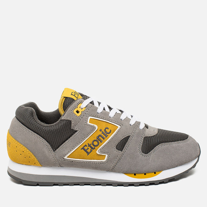 Etonic Trans Am Mesh Sneakers Charcoal Grey/Yellow
