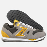 Etonic Trans Am Mesh Sneakers Charcoal Grey/Yellow photo- 2