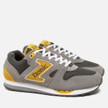 Etonic Trans Am Mesh Sneakers Charcoal Grey/Yellow photo- 1