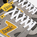 Etonic Trans Am Mesh Sneakers Charcoal Grey/Yellow photo- 5