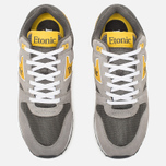 Etonic Trans Am Mesh Sneakers Charcoal Grey/Yellow photo- 4