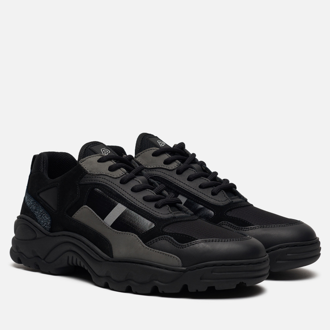 Кроссовки Filling Pieces Low Curve Iceman Trimix 2.0 Black
