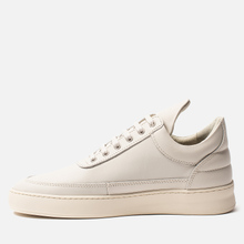 Кроссовки Filling Pieces Low Top Plain Matt Nappa Off White фото- 5