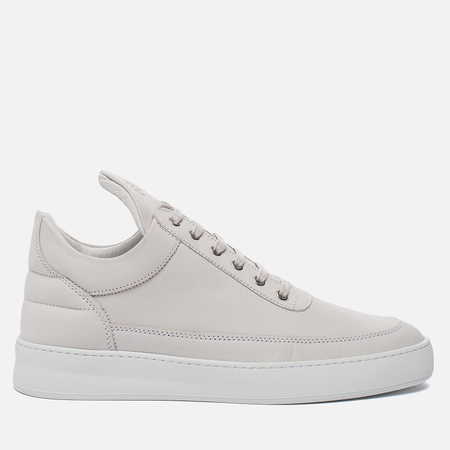 Кроссовки Filling Pieces Low Top Plain Matte Nubuck White