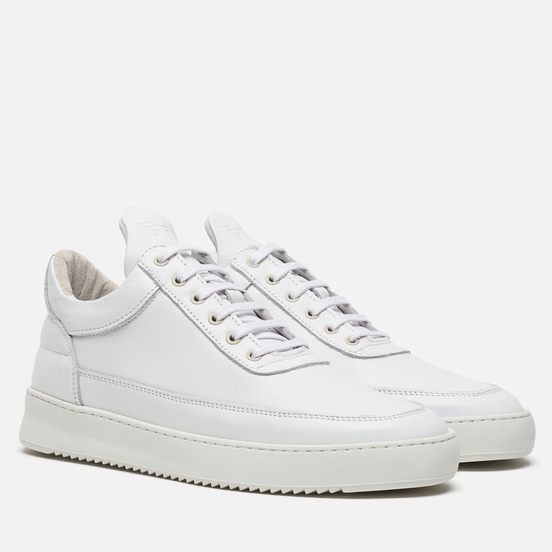 Кроссовки Filling Pieces Low Top Ripple Grain White