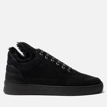 Кроссовки Filling Pieces Low Top Ripple Tinza All Black фото- 3