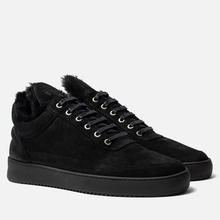 Кроссовки Filling Pieces Low Top Ripple Tinza All Black фото- 0